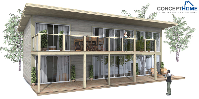 Small Modern House CH   F  M  B  Small House Plan   three    house designs   house plan ch