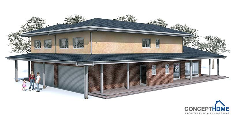 Duplex House Oz83d Duplex House Plan With Four Bedrooms House Plan