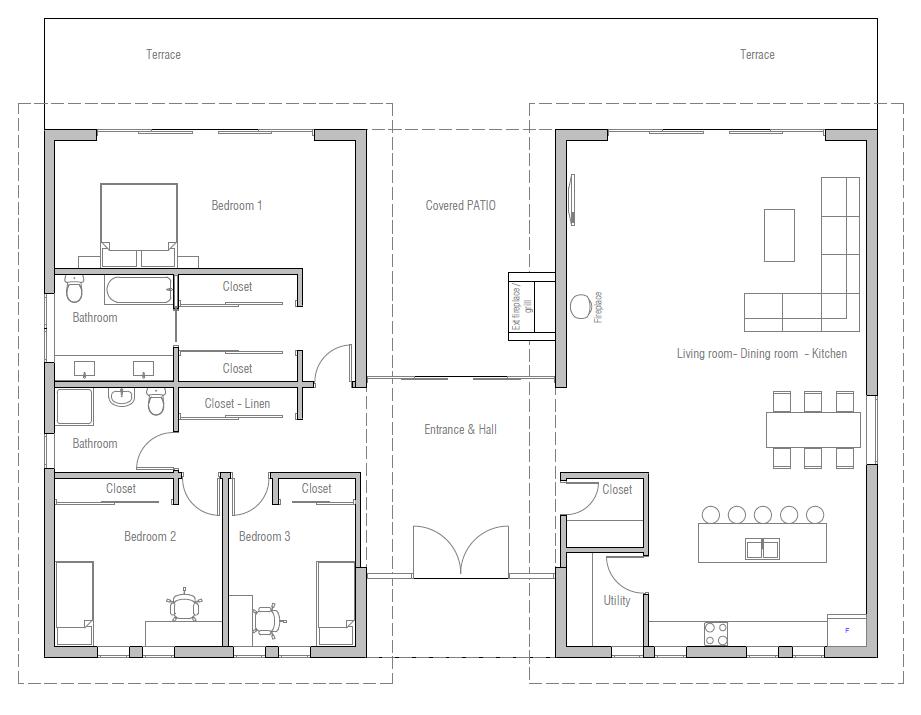 House Plan Ch411 House Plan