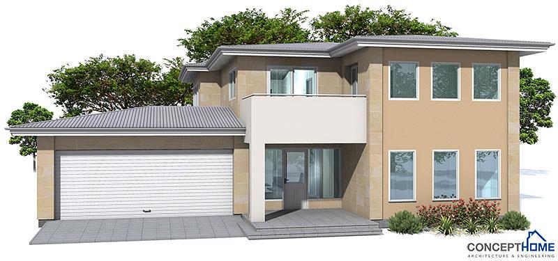 Modern House Oz18 2f 224m 3b House Plan With Big