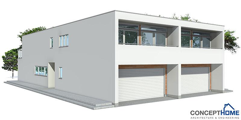 house design semi-detached-house-plan-CO83d-2 0
