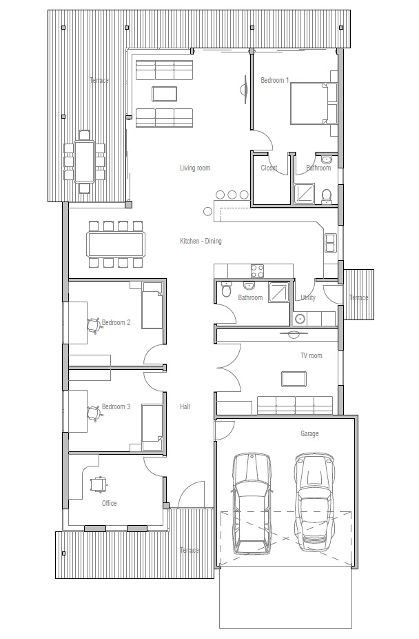 Duplex Plans For Narrow Lots Joy Studio Design Gallery