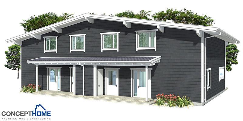 house design semi-detached-house-plan-ch9d 7