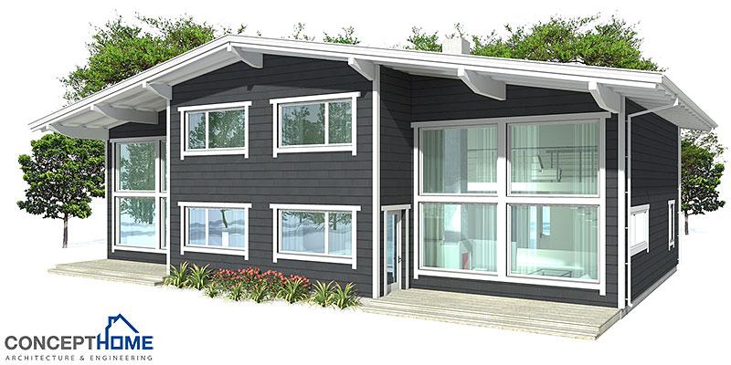 house design semi-detached-house-plan-ch9d 8
