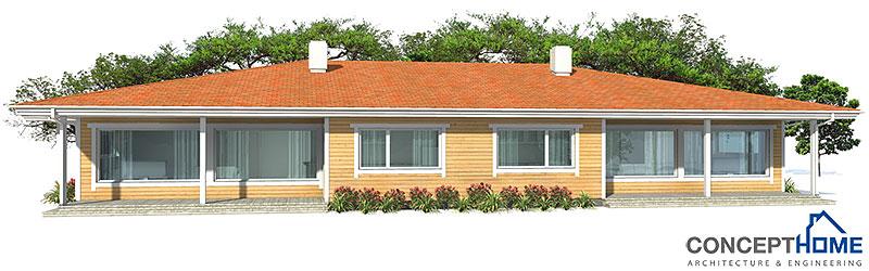house design Semi-detached-house-plan-ch118d 6