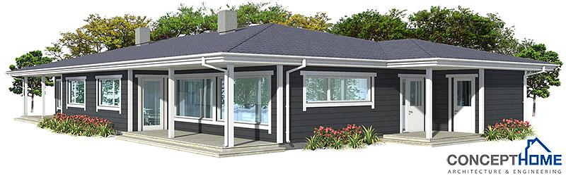 house design Semi-detached-house-plan-ch118d 11