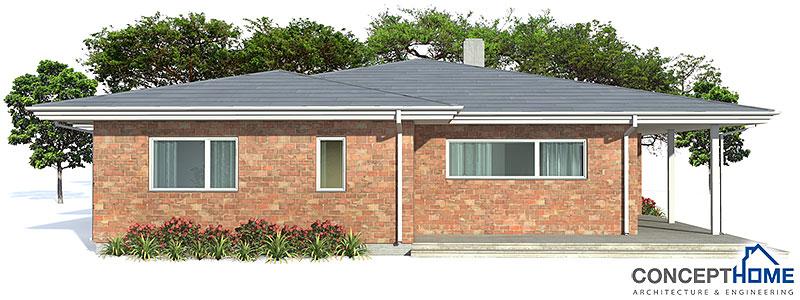 house design semi-detached-house-plan-CH121D 3