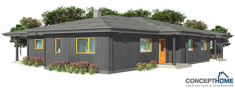 house design semi-detached-house-plan-CH121D 18