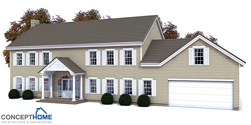 house design large-colonial-house-ch133 2
