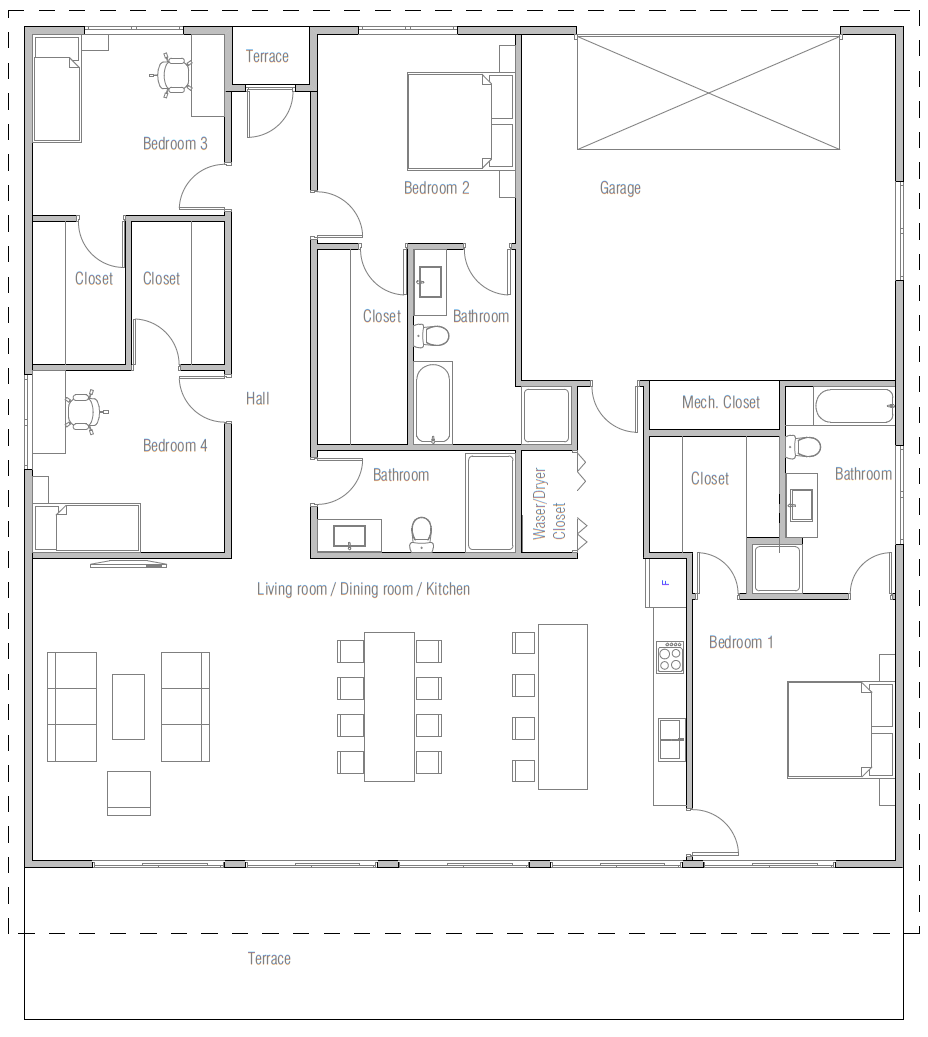 house design house-plan-ch443 10