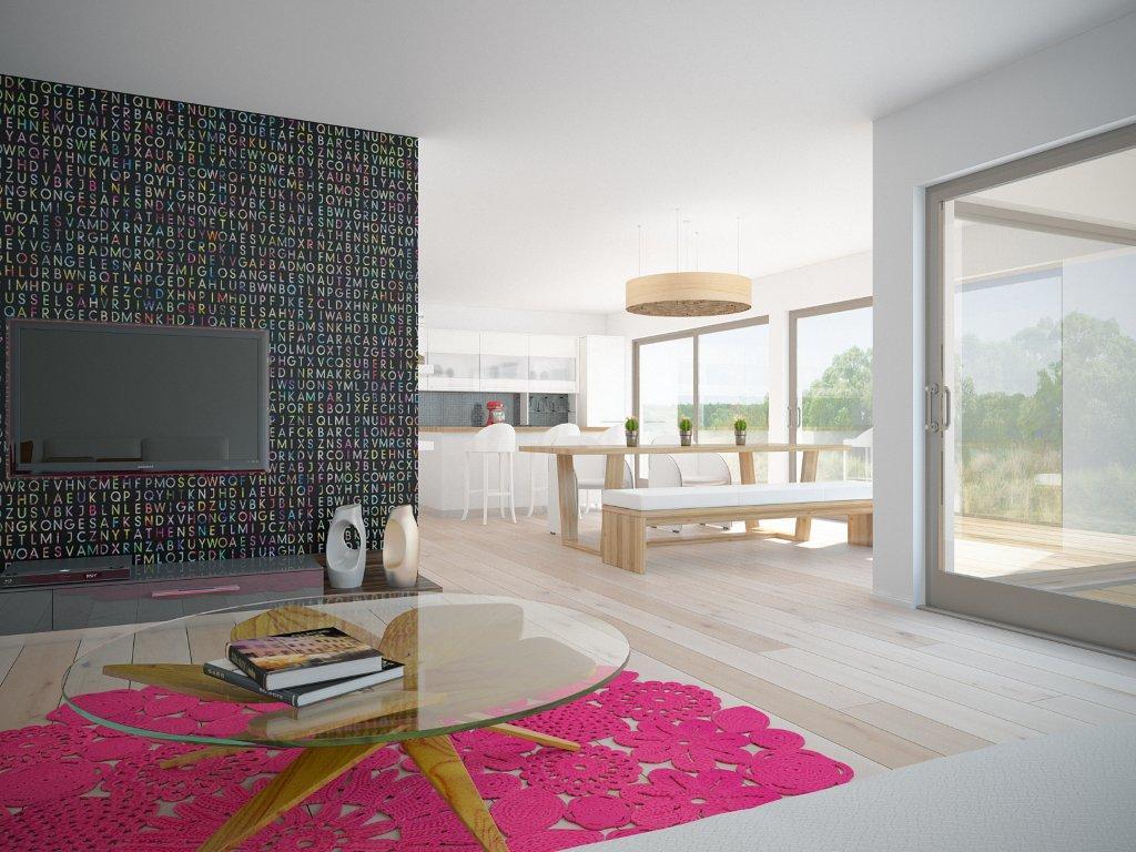 Modern House Ch161 1f 177m 3b Minimalistic House Plan House Plan