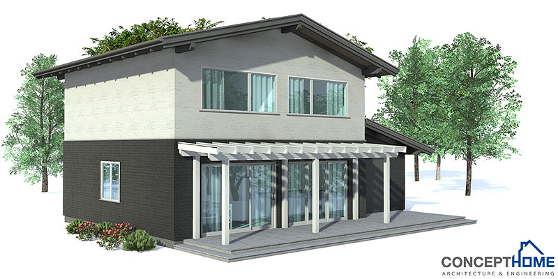 Small house plan oz43 with affordable building budget for House plans economical to build