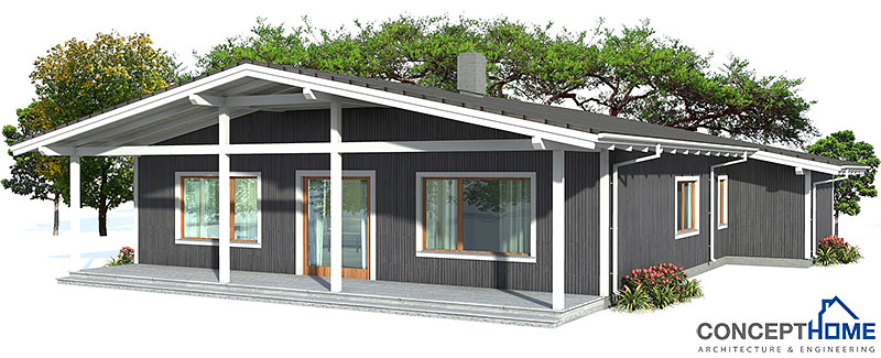 Small House Plan Ch4 With Affordable Building Budget