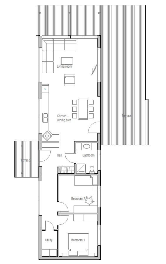 28+ [ small narrow house plans ] | 25 best ideas about narrow