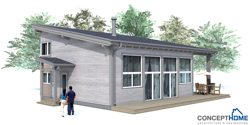 Small house plan ch52 with affordable building budget for House plans economical to build