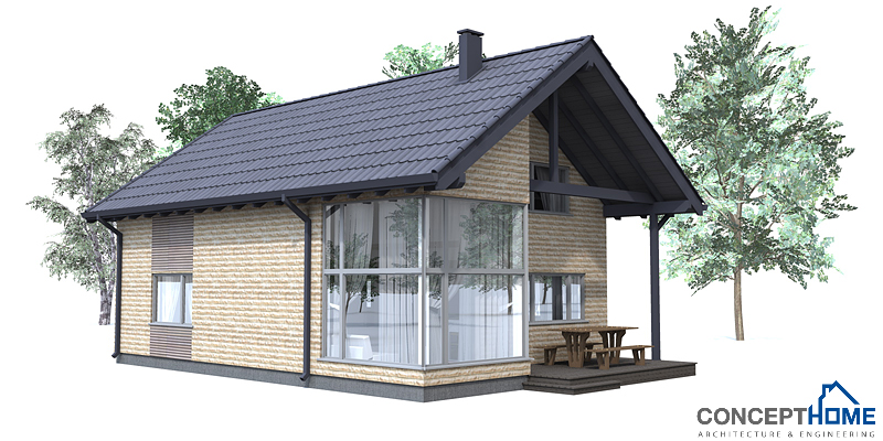 Small houses 001 house plan for Concept home com