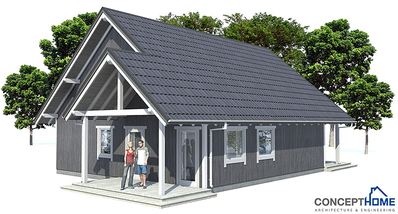 Small House Plan Ch45 Home Design With Affordable Building