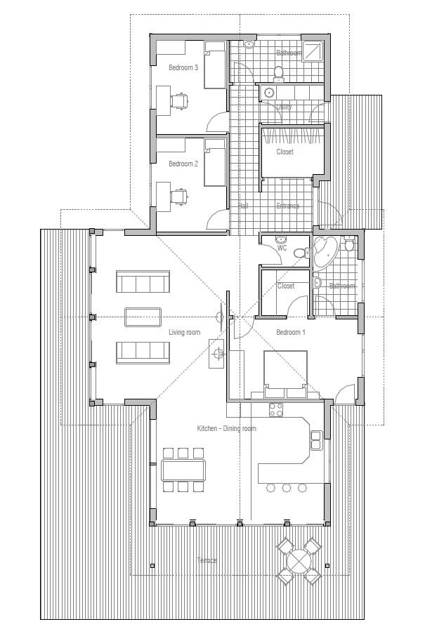 pics photos open floor house plans vaulted ceilings in floor