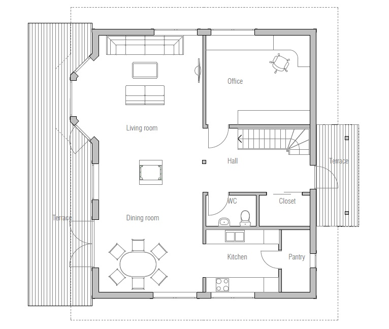 Small House Plans 3 Bedrooms
