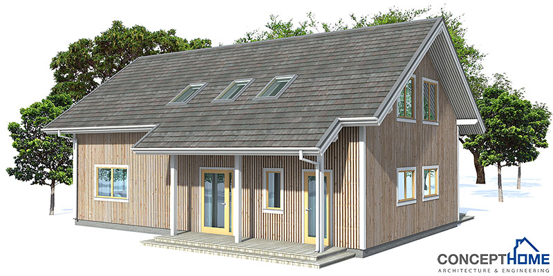 Small House CH19 With Affordable Building Budget House Plan