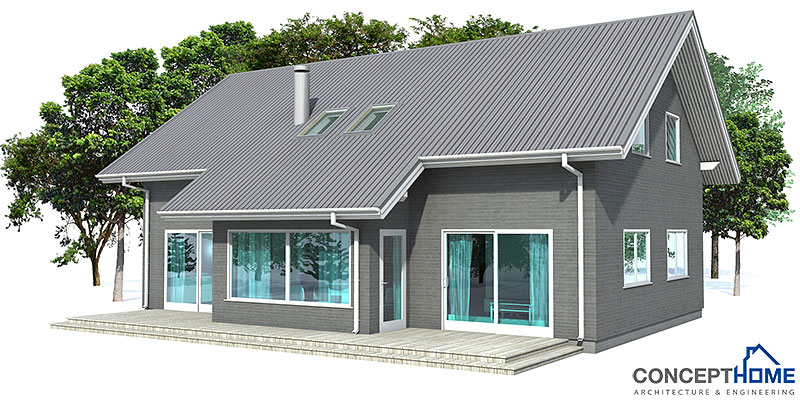Small house ch19 with affordable building budget house plan for Affordable house plans to build