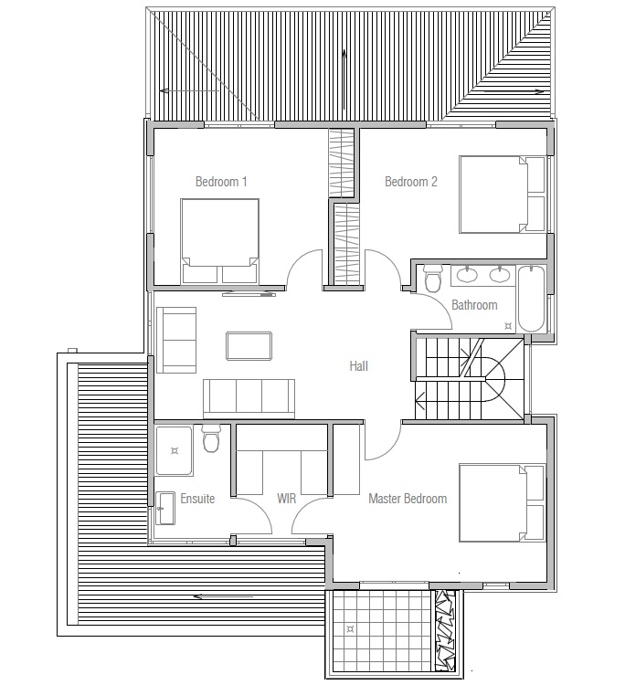 House plans and design very modern house plans for Very modern house plans