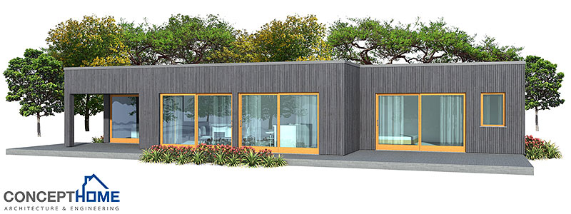 Modern Minimalist House Design Ch161 In One Level House Plan