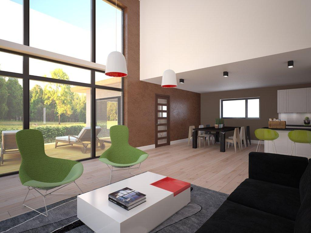 Surprising Modern House Plan With Nice Big Windows House Plan Largest Home Design Picture Inspirations Pitcheantrous