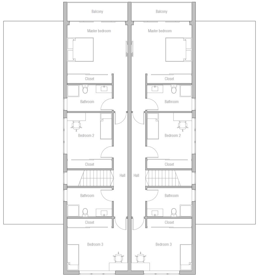 house design duplex-plan-ch546d 12