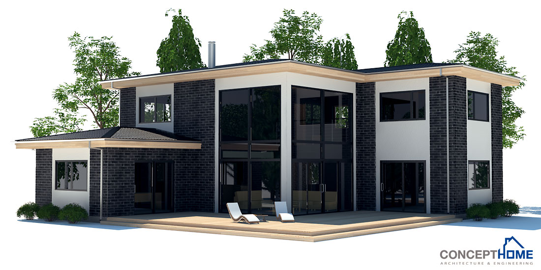 Modern House CH17 With Detailed Floor Plans