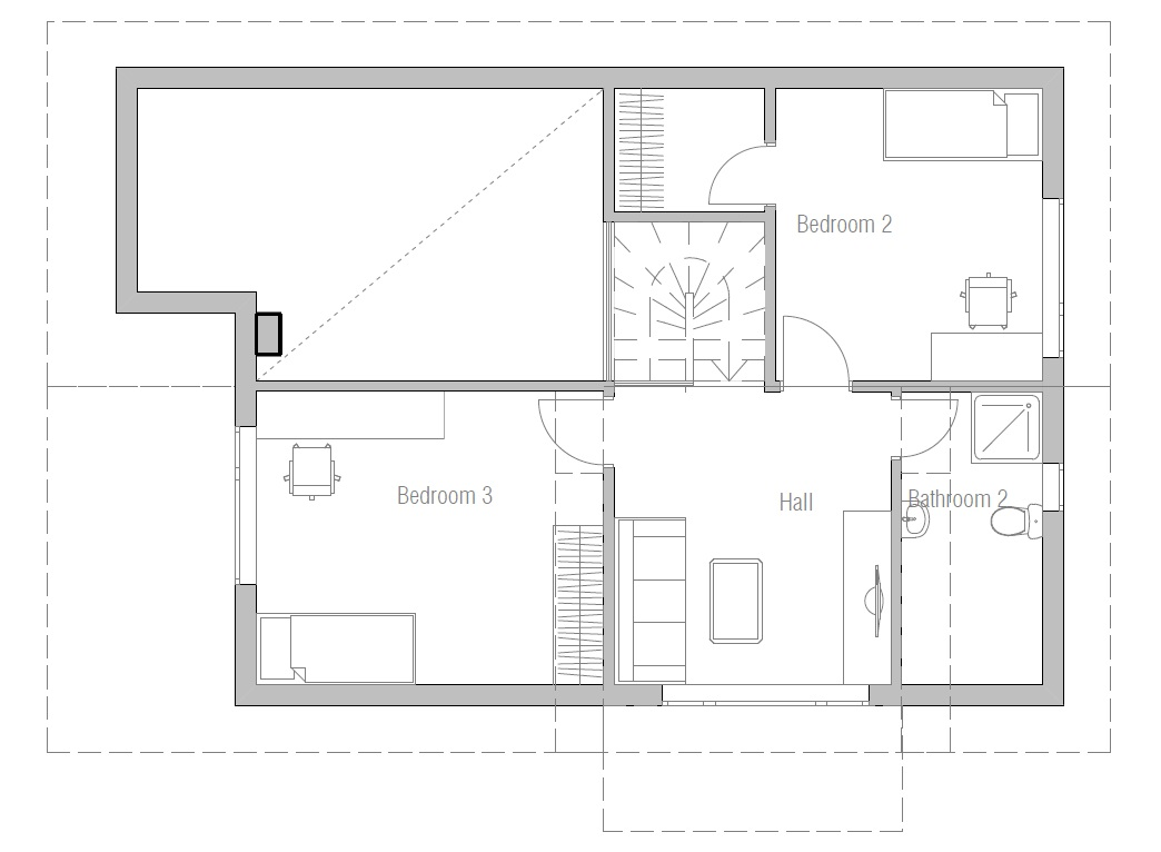 Affordable Home Ch42 House Plans And Floor Details House Plan