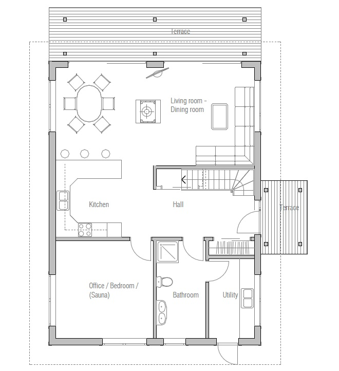 Affordable Home CH20 Building Info And Floor Plans. House Plan