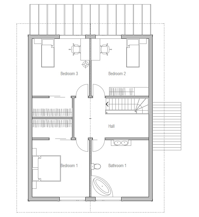 Affordable Home Ch20 Building Info And Floor Plans House Plan