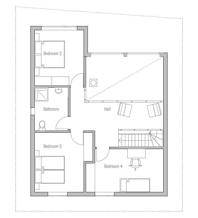 House Floor Plan 154