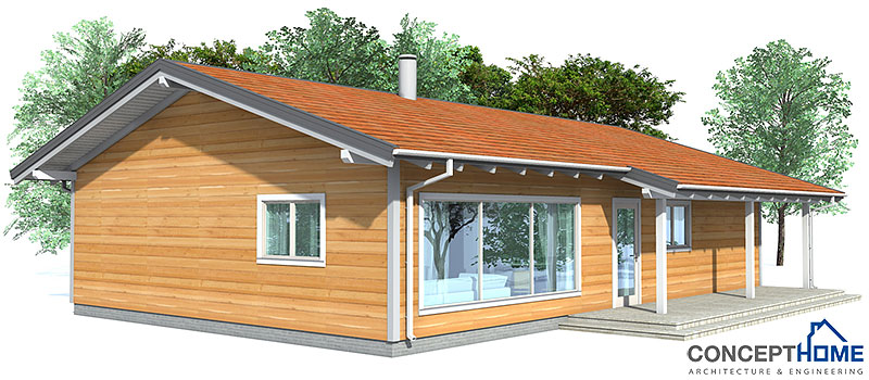 small house ch32 - 1f/134m/3b. affordable house plan. house plan