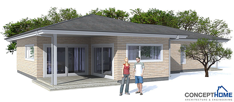 Affordable home ch73 in modern architecture and low cost Affordable house plans with cost to build
