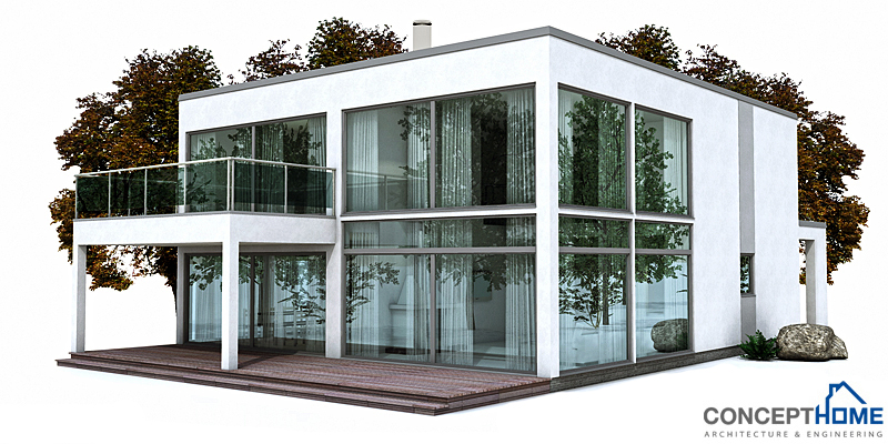 Affordable Modern House Plans Contemporary House Plans Modern House Plan To Narrow Lot