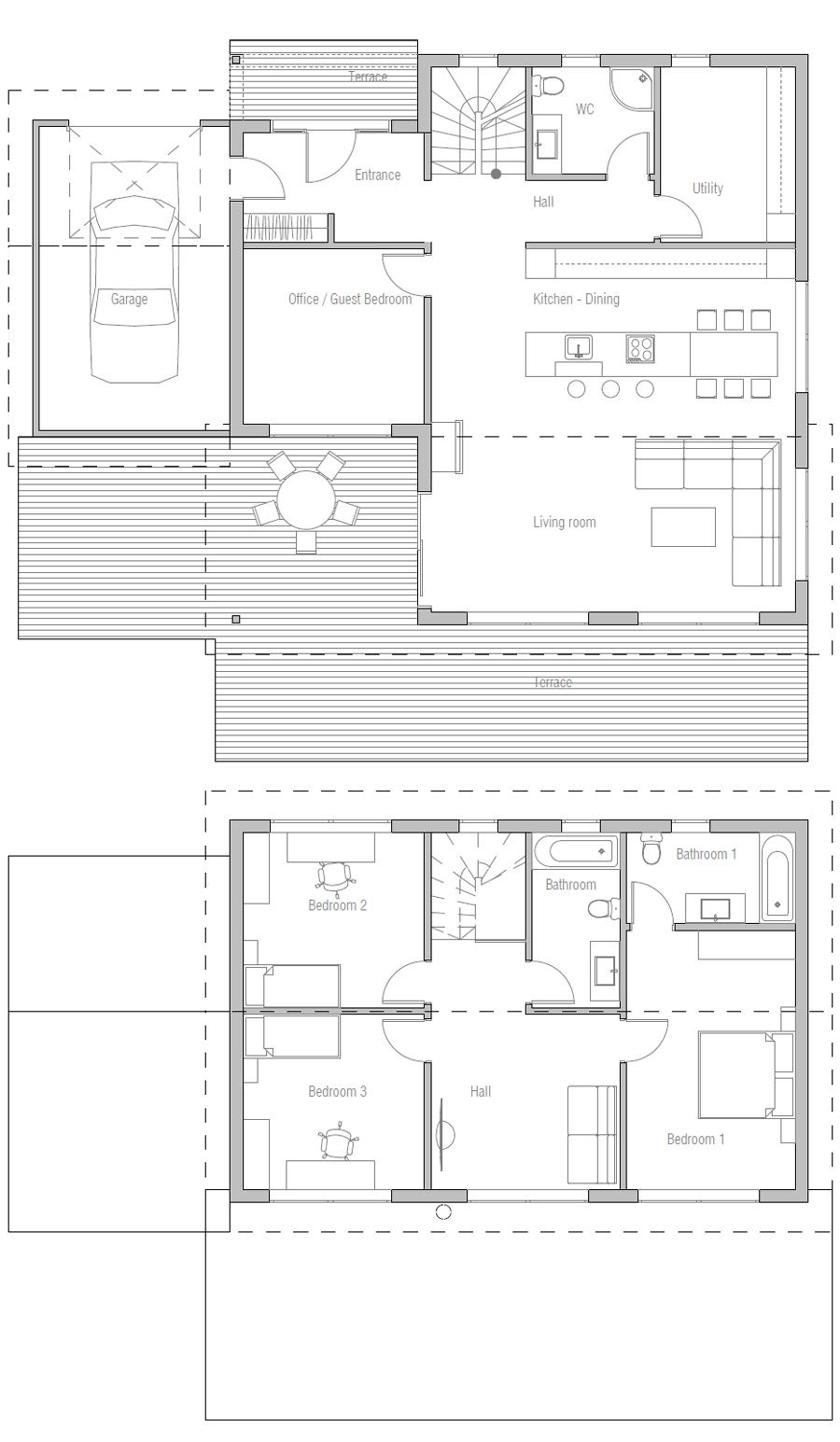 house design contemporary-home-ch153 10