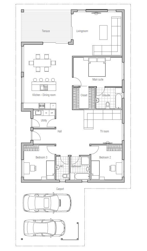 Affordable Home Ch71 Images Info And Floor Plans House Plan