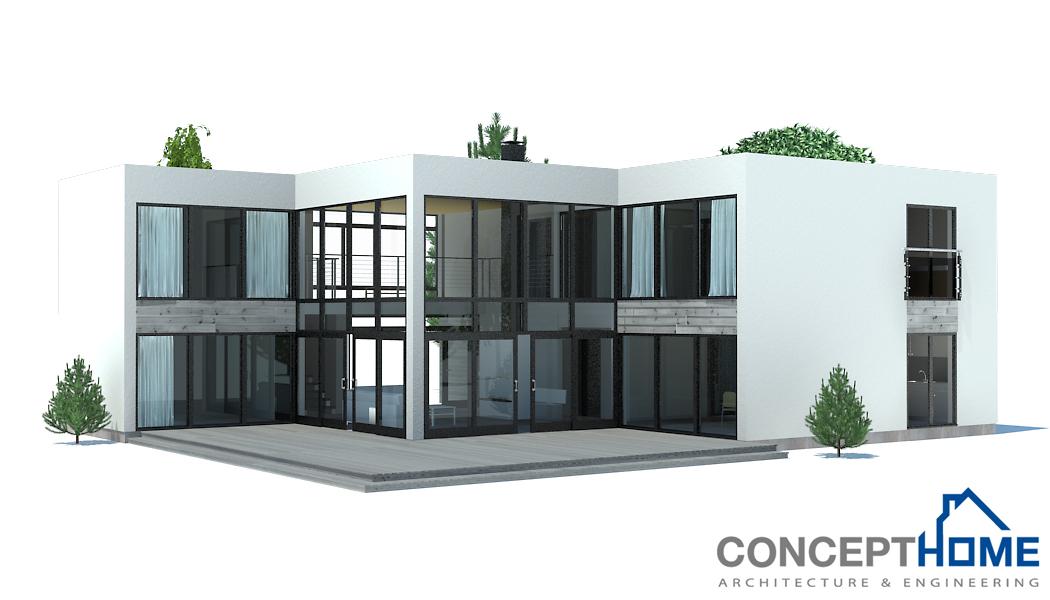 Contemporary Home Plan Ch168 Floor Plan Info