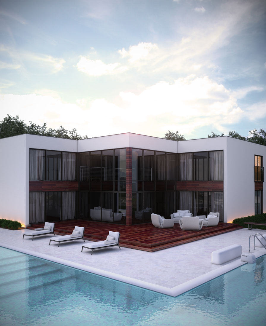 Contemporary Home Plan Ch168 Floor Plan Info House Plan