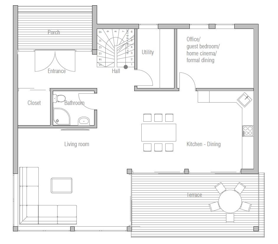 House Floor Plan 184