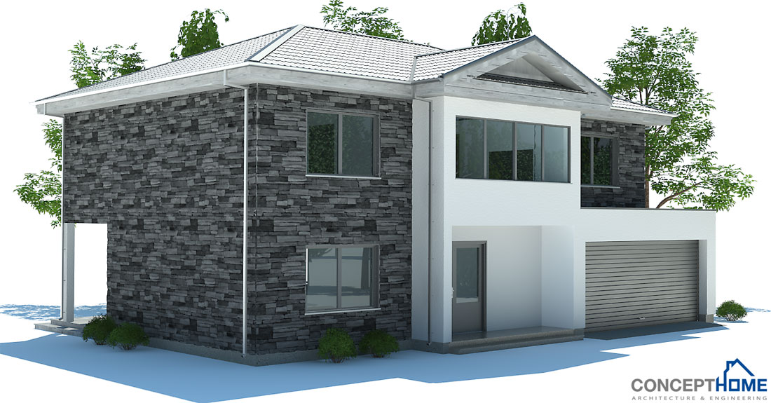 Modern House Ch174 Building Details House Plan
