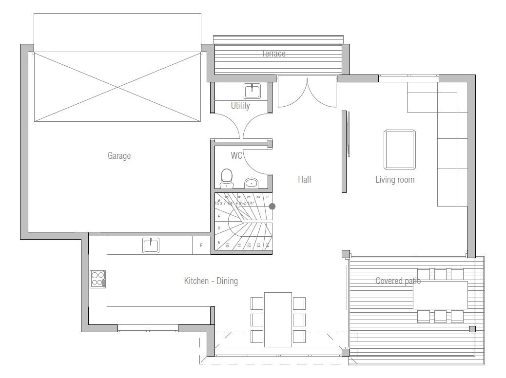 Modern House CH building details  House Plan    new designs     Modern Home ch  jpg