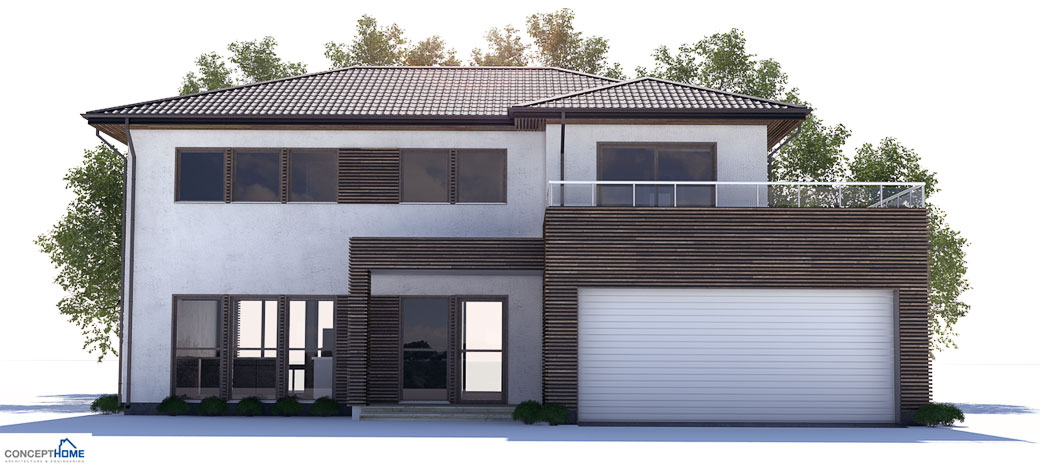 modern house plan ch171 with affordable building budget. house plan