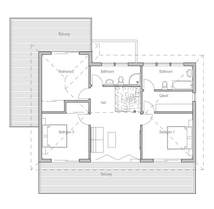 Modern House Plan Ch171 With Affordable Building Budget