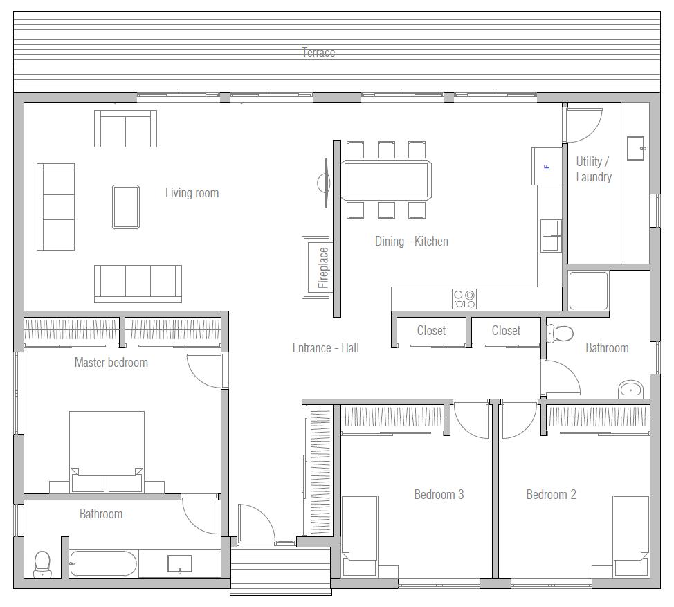 house design house-plan-ch414 10