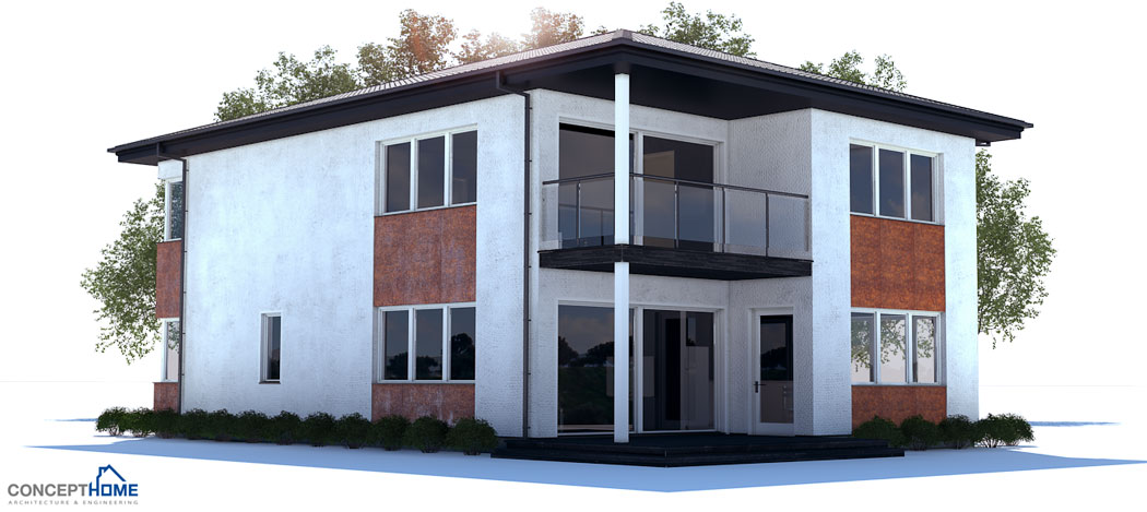 Modern House Ch177 To Narrow Lot With Open And Efficient