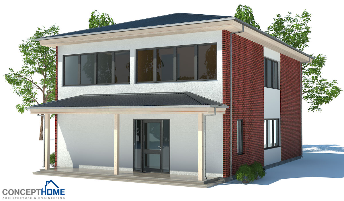 Small house plan with affordable building budget with two for Affordable house building