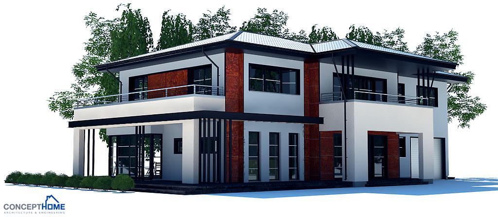 house design modern-house-plan-ch204 2